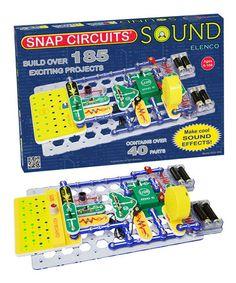 Take a look at this Snap Circuits Sound by Snap Circuits on #zulily today!