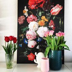 #kwantuminhuis Canvas BLOEMEN > https://www.kwantum.nl/wonen/wanddecoratie @sint73