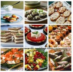Wedding Appetizers And Hors D'oeuvres