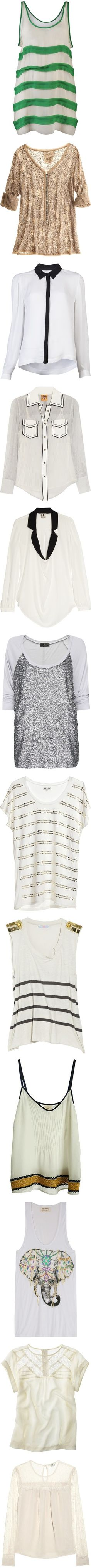 """""""tops II"""" by luxurist ❤ liked on Polyvore"""