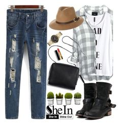 """""""Shein"""" by oshint ❤ liked on Polyvore featuring Billabong, H&M, Rusty, Marc by Marc Jacobs, Chanel, cool, Sheinside and shein"""