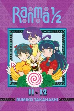 Ranma 1/2, Vol. 11 & 12 by Rumiko Takahashi (YA FIC Takahashi - Graphic Novels). Furinkan High gets a new principal with some very radical ideas about student discipline and a rather unexpected relationship with blustering upperclassman Kuno. Then, poor lovesick Ryoga finally gets a break when a magical bar of soap cures his porcine transformations. If it's not too good to be true, then it won't all come out in the wash.