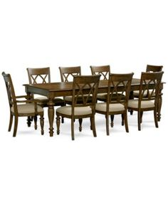 Oak Harbor Dining Furniture Collection   Furniture   Macyu0027s | Home |  Pinterest | Dining Furniture, Furniture Collection And Formal Dining Rooms