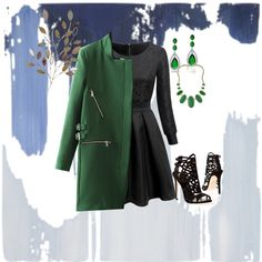 A fashion look from February 2015 featuring Brian Atwood shoes, Kendra Scott necklaces and Bling Jewelry earrings. Browse and shop related looks.