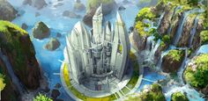 "100 Imaginative ""Cities of the Future"" Artworks"