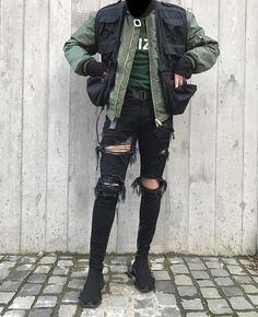 Stupefying Urban Wear Fashion Fall 2015 Ideas Simple and Modern Tips Can Change Your Life: Urban Fashion Jeans Outfit urban fashion outfits pants. Urban Style Outfits, Mode Outfits, Jean Outfits, Fashion Outfits, Urban Style Clothing, Grunge Outfits, Male Clothing, Fashion Skirts, Clothing Sites