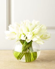 Shop faux flowers and floral arrangements at Horchow. Add some greenery to your home with these bouquet arrangements.