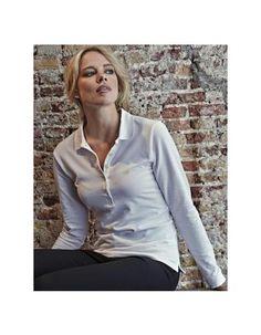 Pextex.cz - Dámské polo triko s dlouhým rukávem Luxury Stretch Tee Jays