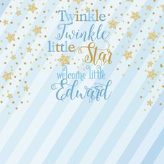 hot sale custom Twinkle Twinkle Little Star Gold Star Striped background party hotography backdrops Birthday Photo Background, Party Background, Backdrop Background, Striped Background, Gold Baby Showers, Star Baby Showers, Baby Boy Shower, Party Time Meme, Police Birthday Cakes