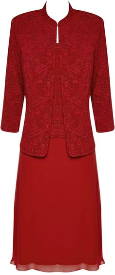 Noni b red dress coat