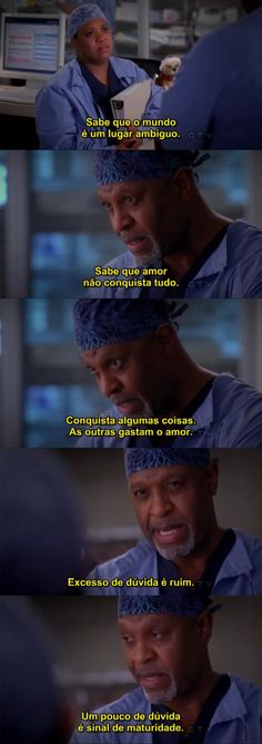 "Sabedoria do ""chief"" <3 (9x9 greys anatomy)"