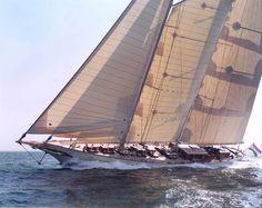 Athena Beautiful Sailing Yacht