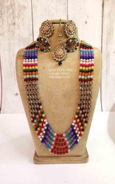 #Jewelry #ArtificialJewelry #LongNecklace #Mala #longchainnecklace