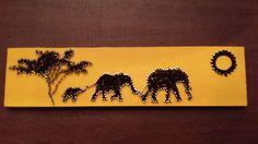 elephant string art - Google-haku