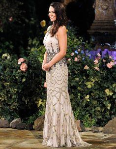 Bachelorette Style Breakdown: Find Out Andi Dorfman's First Rose Ceremony Dress Designer
