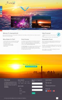 One of our best Travel websites. Fully word press responsive website. Do check.