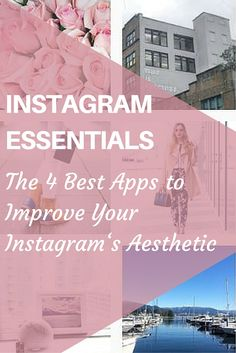 So you want to improve your Instagram aesthetic? Click here to find four of the BEST editing apps to create gorgeous natural edits to your Instagram images.