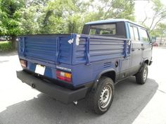 Learn more about No Reserve: 1989 Volkswagen Vanagon Syncro Doka on Bring a Trailer, the home of the best vintage and classic cars online. Vw Doka, Vw T3 Syncro, Volkswagen, Vw Bus, Vw Pickup, Water Cooling, Classic Cars Online, Camper Van, Offroad