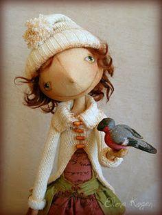 a winsome lass...by Helen Kogan, Ukraine
