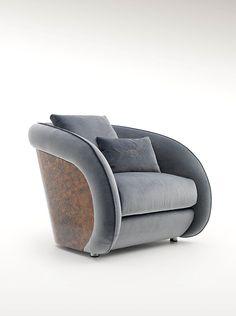 Bentley Home - Beaumont armchair www.luxurylivinggroup.com #Bentley #LuxuryLivingGroup