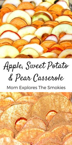 Spiced Apple, Pear & Sweet Potato This delicious casserole recipe is lightly sweetened and combines apples, sweet potatoes and pears with traditional fall spices. Perfect for Christmas, Thanksgiving or any wholesome meal! Easy Egg Recipes, Fruit Recipes, Apple Recipes, Cooking Recipes, Healthy Recipes, Pear Recipes Dinner, Fresh Pear Recipes, Fall Recipes, Healthy Food