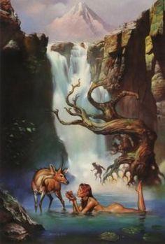 Artio….Celtic wildlife Goddess.