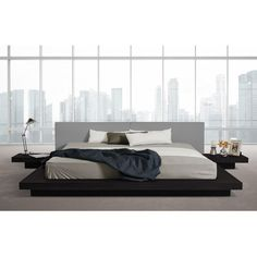 You'll love the Carter Upholstered Platform Bed at AllModern - With Great Deals on modern Bedroom  products and Free Shipping on most stuff, even the big stuff.