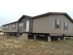 http://mhdeals.net/gallery/used-double-wide-mobile-homes/Buda-TX-78610-1998SE43  Gorgeous 4 bed 3 bath Double Wide Manufactured Home. Built in 1998 this home holds very well for its age. At a large 2,128 square feet (28 x 76), this home has lots of room for many people. The interior comes with Ceiling Fan, Garden tub, Laundry Room, Pantry, Split Floor Plan, Tape and Texture, and Walk-in Closets. Refurbishments...  Call Us (210)-887-2760  LIC 36155  #Home #manufactured #beautifulhome #buda #t...