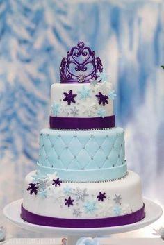 imagenes de pasteles de frozen 3 pisos