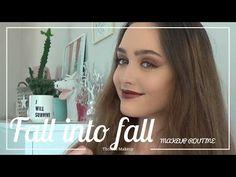 Fall Into Fall makeup tutorial - YouTube