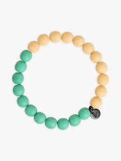 bracelet benny vert d'eau et beige Beige, Bracelets, Jewelry, Svelte Sage, Jewlery, Jewerly, Schmuck, Jewels, Jewelery