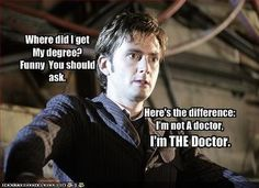 Dr Who's education