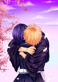 Ichiruki - Hug by gone-phishing.deviantart.com on @deviantART