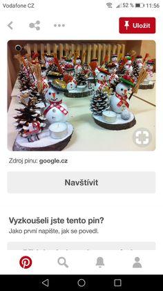 Yıl bişi Primitive Christmas, Christmas Snowman, Christmas Crafts, Christmas Ornaments, Christmas Tablescapes, Christmas Centerpieces, Christmas Decorations, Clay Pot Crafts, Holiday Crafts