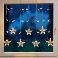 LED-vindusdekorasjon stjerneforheng 4523293