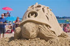 Art by Dan Belcher    The 2011 Revere Beach National Sand Sculpting Festival art by Dan Belcher.