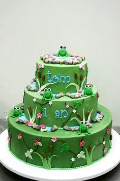 Frogs cake Berko