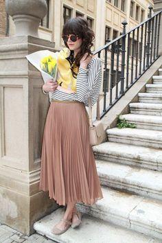 【秋のプリーツスカート】着こなしコーディネートまとめてピックアップ | Lifeinfo!