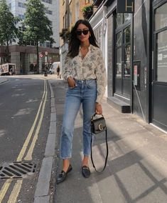 *will dabble in the occasional print 🤷🏽♀️ Loafers Outfit Summer, Black Loafers Outfit, Loafers For Women Outfit, Classy Outfits, Chic Outfits, Trendy Outfits, Fashion Outfits, Summer Outfits Women, Look Cool