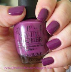 OPI- Pamplona Purple