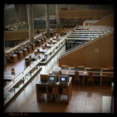 Library at Alexandria Library Of Alexandria, Alexandria Egypt, All Over The World, Around The Worlds, Center Of Excellence, Home Libraries, Reading Room, Book Nooks, Photo Galleries