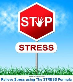 There are many ways to relieve stress. Here are some simple steps to manage stress efficiently based on an easy to remember stress reliever formula.