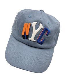 c0796dc477c QM NYC Baseball Cap Dad Hats 3D Embroidered Adjustable Snapback Cotton  Unisex Denim C0187K06OOE - Hats