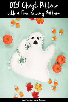 Sew a cute pom pom ghost pillow to decorate for Halloween! It's easy to sew with a free pattern from Heather Handmade. The soft Halloween decoration is kid-friendly and fun. Go to Heather Handmade for the free sewing pattern. Looking … Read more ...