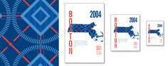 Boston Red Sox Map Print