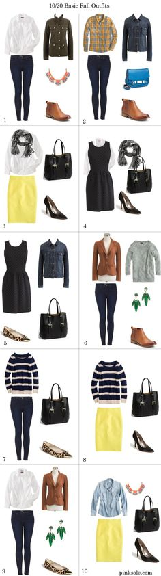 20 Basic Fall Outfits |