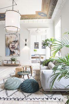 Appartement bourgeois moderne - Lovely Market, les trouvailles de Constance