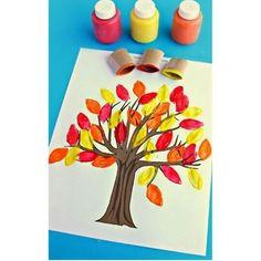 Дерево из отпечатков