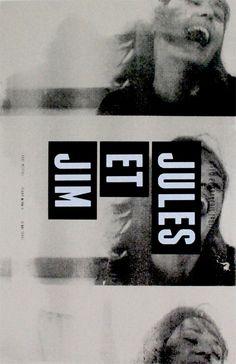 Jules et Jim / Truffaut. A weird film about relationships, beautifully made.