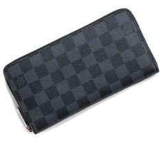 9ac313f1ef0e Louis Vuitton Damier Graphite Zippy Wallet N60015